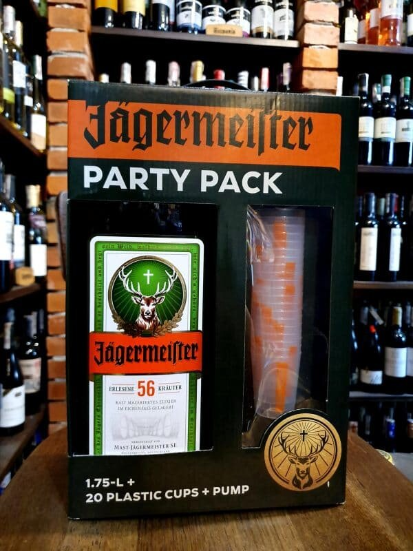Jägermeister Party Pack 1,75L
